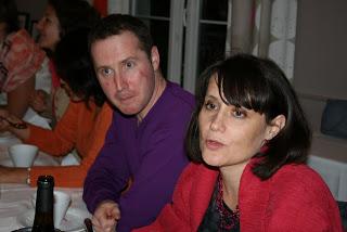 Laurent Deruet, accompagné de Stéphanie Hublin-Besson