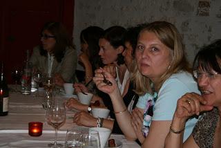 de gauche à droite : Béatrice Barruel, Victoria Bletry, Anne Ferreira, Christel Casteret, Véronique Marchand, Janick Brabant
