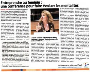 La Tribune d'Orléans, 16 mai 2013