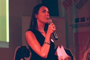 Fany Cheriere Présidente de l'association Voyelles
