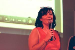 Stéphanie Hublin-Besson  Secrétaire générale de l'association Voyelles