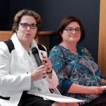 Corinne Leveleux-Teixeira, élue au Conseil régional Centre et Sophie Savignac, directrice de la Boutique de Gestion