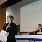 Stéphanie Médeau-Talairach, présidente de Voy'elles, ouvre la conférence !