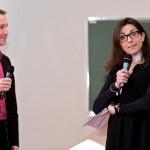 Laurent Deruet et Fany Chérière, membres de Voyelles, en pleine autodérision sur les clichés de l'entrepreneuriat au féminin