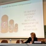 Typhaine Lebègue, enseignante-chercheure à France Business School Tours,  présente la première thèse sur l'entrepreneuriat au féminin.
