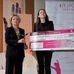 Lauréate dans la catégorie création, la dirigeante Valérie-Anne Delaidde pour son activité de e-commerce King Dagobert (sous-vêtements masculins...royaux)