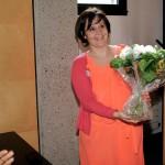 Des fleurs pour dire....MERCI à celle qui oeuvre, dans l'ombre, aux côtés de la présidente, pour porter Voyelles